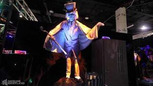 D23 Expo 2013 The Haunted Mansion's long lost Hat Box Ghost materializes