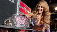 Evil Layla Backstage