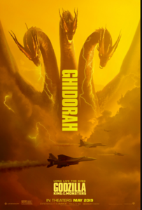 Godzilla King of the Monsters - Ghidorah poster