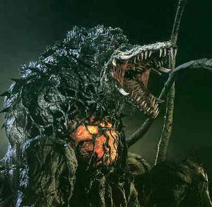 Godzilla vs. Biollante - Plant Beast Form Biollante