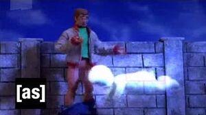 Jasper- the Douche Bag Ghost - Robot Chicken - Adult Swim