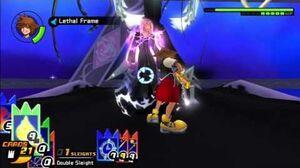 Kingdom Hearts Re Chain of Memories HD - Final Marluxia No Damage (Proud Mode Sora's Story)