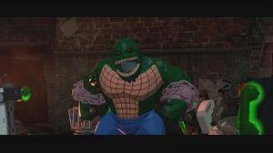 LEGO Batman 3 Beyond Gotham - Killer Croc Gameplay Boss Battle 1080p HD