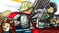 LEGO Marvel's Avengers Walkthrough - Lost in the Aether (Thor 2 The Dark World Bonus Level)