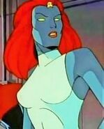 Mystique animated