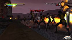 Taven vs. Hellspawn Ninjas