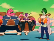 Frieza, Zarbon and Dodoria