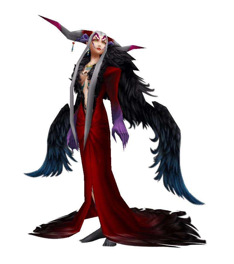 Final Fantasy Ultimecia Concept Art
