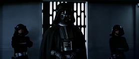 Vader informing