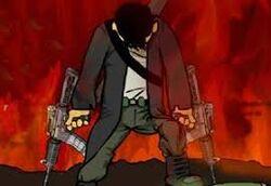 Character in Mass Mayhem 4