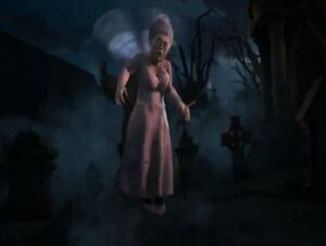 Fairy godmother zombie scared shrekless thriller night