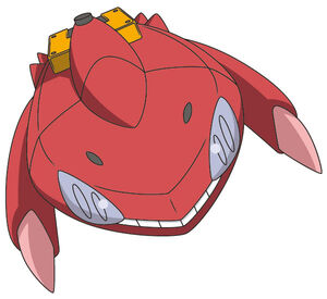 Red Genesect Flight Form