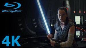 Star Wars The Last Jedi - Rey & Kylo Ren vs Snoke's Praetorian Guards