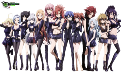 Akuma no Riddle Grupa Assasins Mega Kakoiiii Killers HD Render