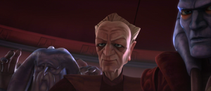 Chancellor Palpatine hold-up