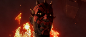 Maul surprised