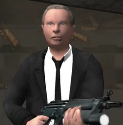 Mr. Blue Reservoir Dogs video game