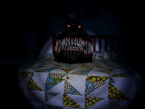 Nightmare Behind Bed