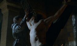 Ramsay tortures Theon HBO