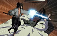 Sasuke and Orochimaru