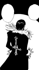 Chap 110 - Chrollo's back view