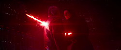 Kylo impales Solo- Impact of Vader's fall from grace