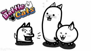 The battle cats by flowerlovesyou-d9lcddf