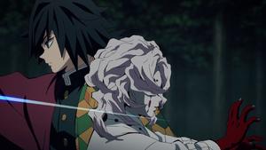 Giyu decapitates Rui EP20