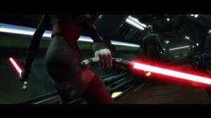 Star Wars The Clone Wars - Asajj Ventress & Savage Opress vs