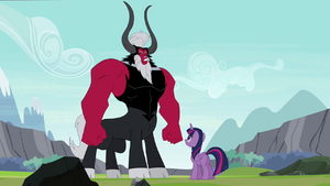 Twilight and Tirek face-to-face S4E26
