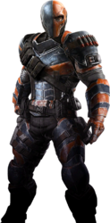 Arkham origins deathstroke injustice