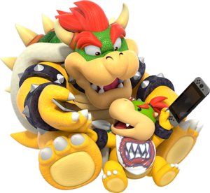 Bowser and Bowser Jr