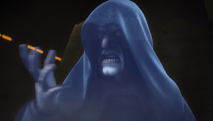 Emperor Palpatine directs