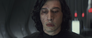 Kylo averts his eyes