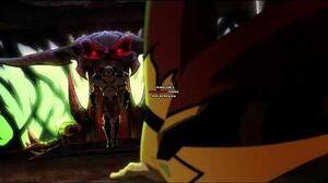 Shao Kahn in Mortal Kombat Legends Scorpion's Revenge