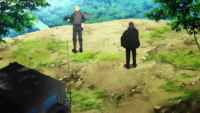 Subtilizer explaining to PoH why battling an irregular squadron is counter-productive - Alicization E01