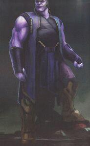 Avengers Infinity War Thanos concept art 13
