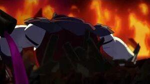 Batman vs Teenage mutant ninja turtles - Shredder becomes joker