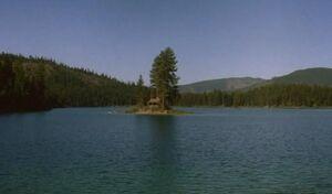 Devil's Pond's Island