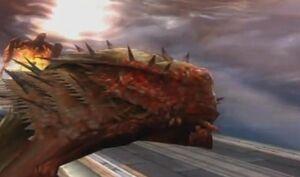 Kraken's Death (GoW2)