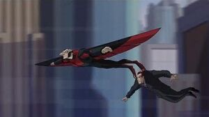 Spectacular Spider-Man (2008) Vulture kidnaps Norman Osborn