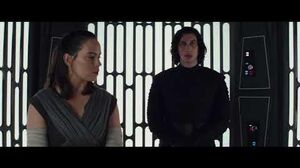 Star Wars the last jedi - Rey and Kylo speak in the Elevator(Full HD 1080)