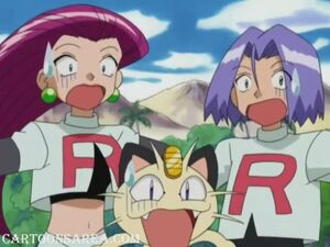 Team Rocket's another problem (Sharpedo Attack!)