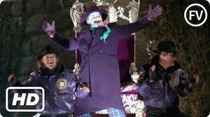 Batman (1989) - Joker Parade Scene HD FilmVerse
