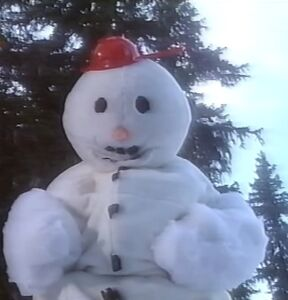Biting Snowman TV