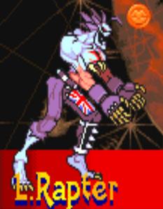 L.Rapter Darkstalkers Vampire Savior