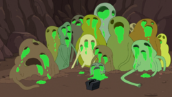 Ooze Mosters in James