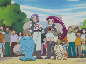 Team Rocket without their disguises (AG068)