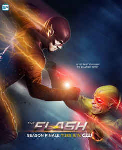 The Flash season 1 poster - Is he fast enough to change time