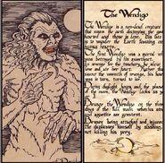 Wendigo description